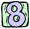 Clipart Number 8