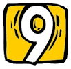 Clipart Number 9