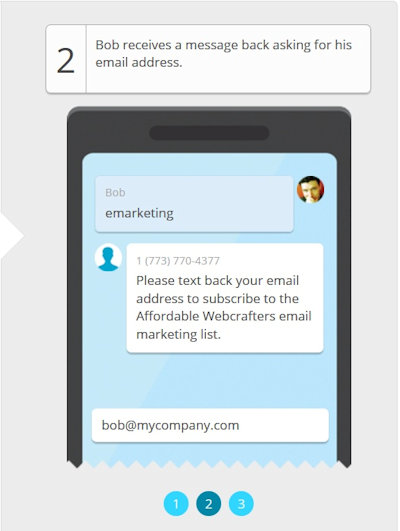 Affordable Webcrafters SMS Marketing Image #2