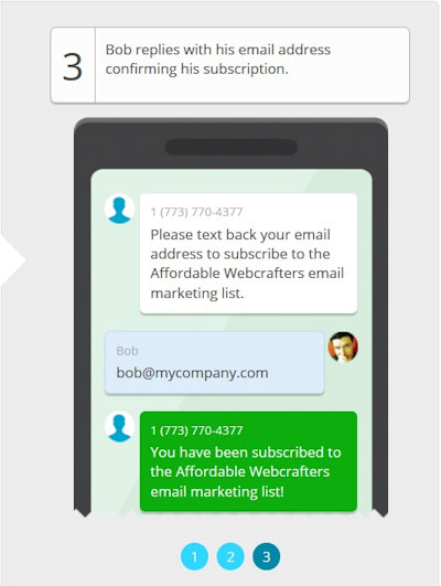 Affordable Webcrafters SMS Marketing Image #3